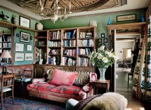 Cottage English Country Library