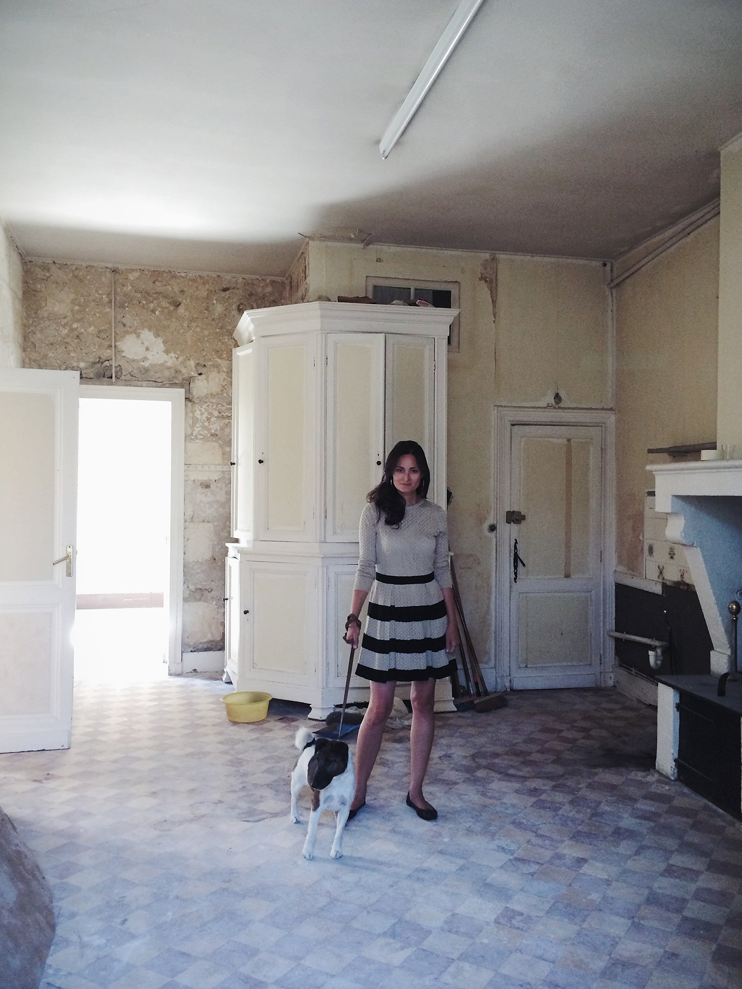 Mimi Thorissons Dream Kitchen in Her French Chateau  Vogue