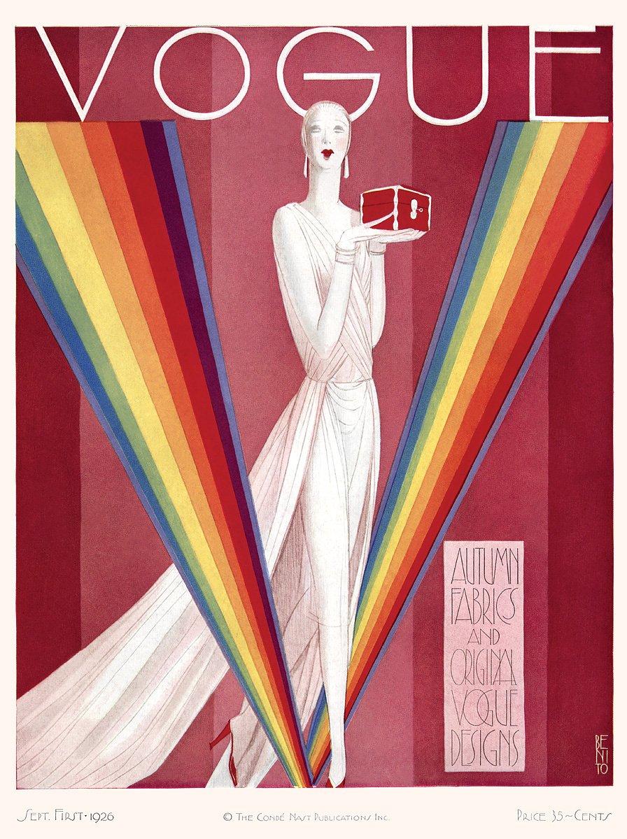 Vogue in the mid-twenties
