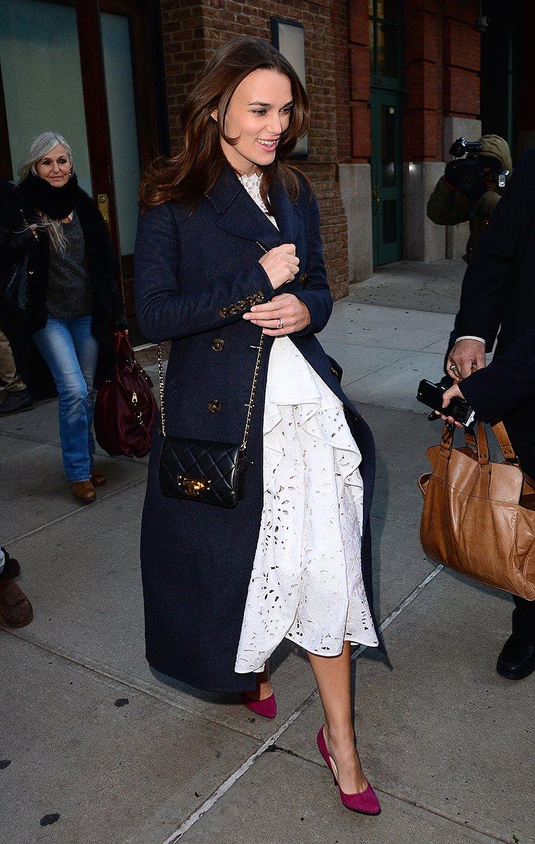 Keira Knightleys PregnancyFriendly Red Carpet Wardrobe