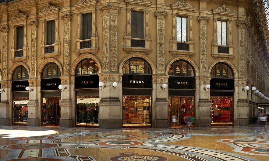 Prada  Store  Milan  Vogue