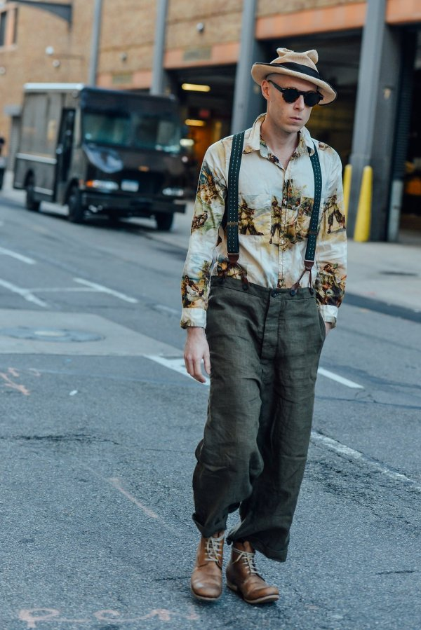 Two Vogue Editors Men Pants Debate