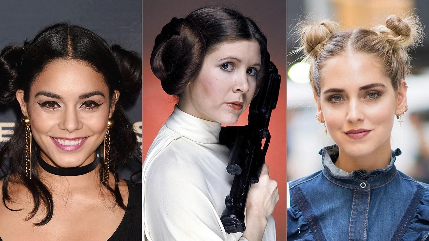 Intergalaktisch! Signature Frisuren Von Prinzessin Leia