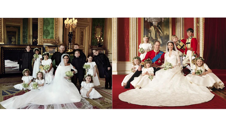 Meghan Markle und Prinz Harry vs Kate Middleton und Prinz