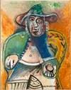 Pablo Picasso Vieil homme assis Mougins, 26 septembre 1970 - 14 novembre 1971