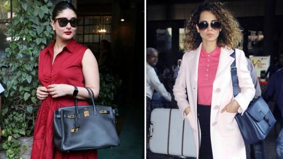 Bolly Divas flaunting their bag