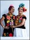 Muxes de Juchitán de Zaragoza Oaxaca fotografiados para Vogue México