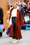 Margot Robbie promoting in New York her film, Birds of Prey