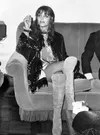 Tina Aumount wearing the whole hippie