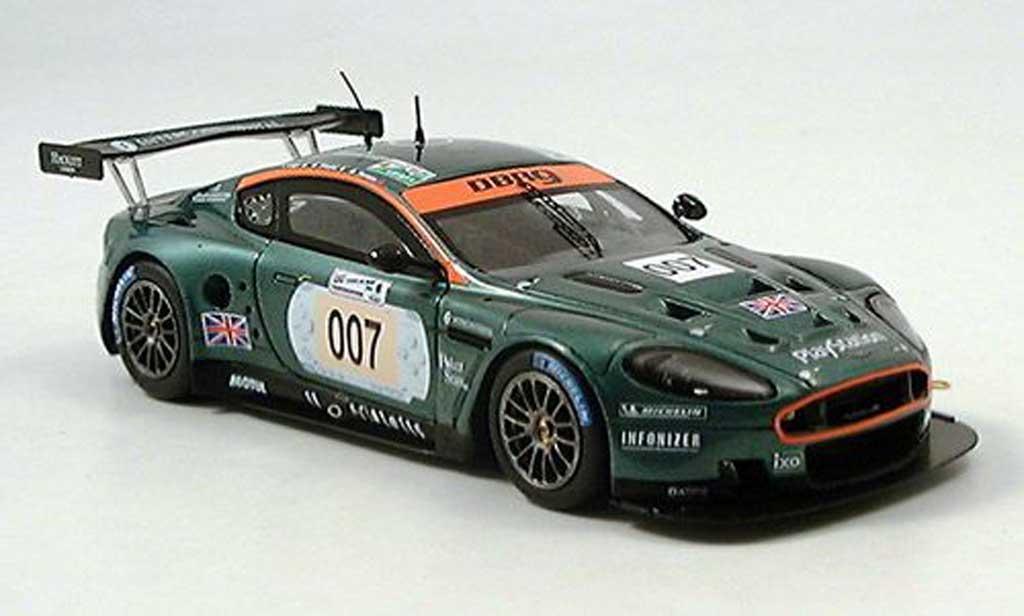 Aston Martin Dbr9 Miniature No007 Le Mans 2006 Spark 143
