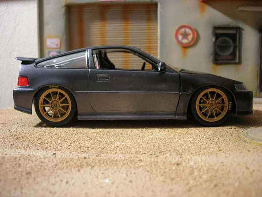 hight resolution of honda crx 1 18 hot wheels jdm gris