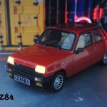 Diecast Model Cars Renault 5 Alpine 1 18 Ottomobile Turbo Rouge Led Alldiecast Co Uk