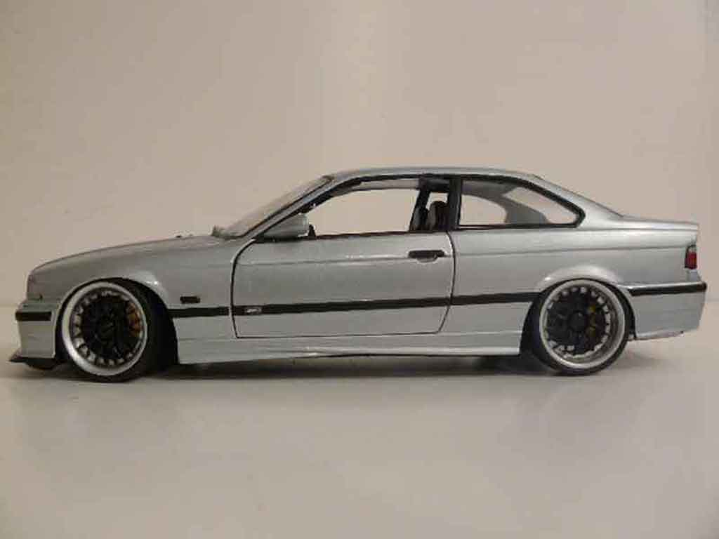 Bmw M3 E36 Gray Wheels Bbs Ut Models Diecast Model Car 1