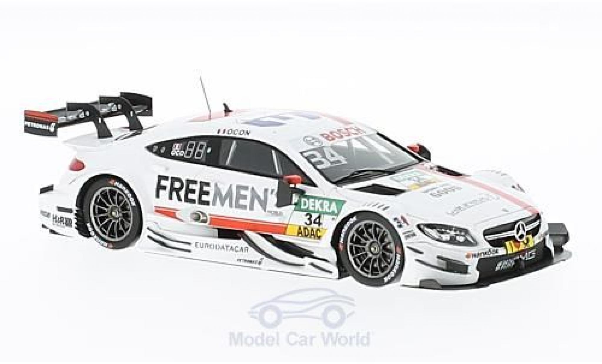 Miniatura Mercedes Classe C DTM 1/43 Spark AMG C63 DTM No