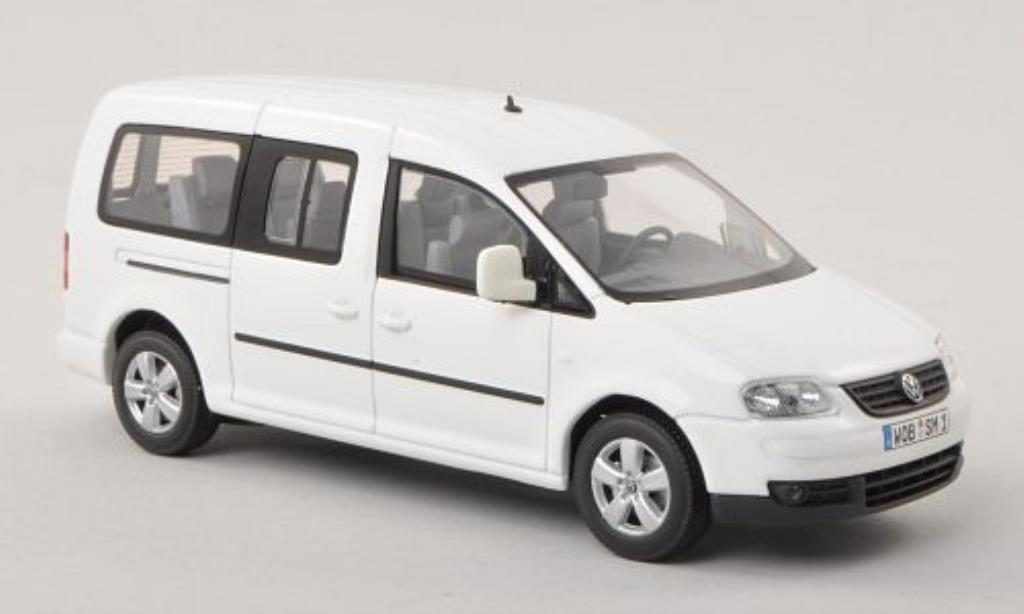 Volkswagen Caddy Maxi Life White Minichamps Diecast Model