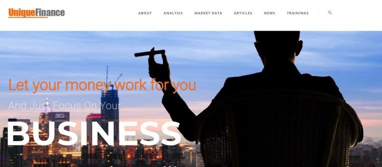 تدعي شركة يونيك فاينانس إنها شركة سويسرية