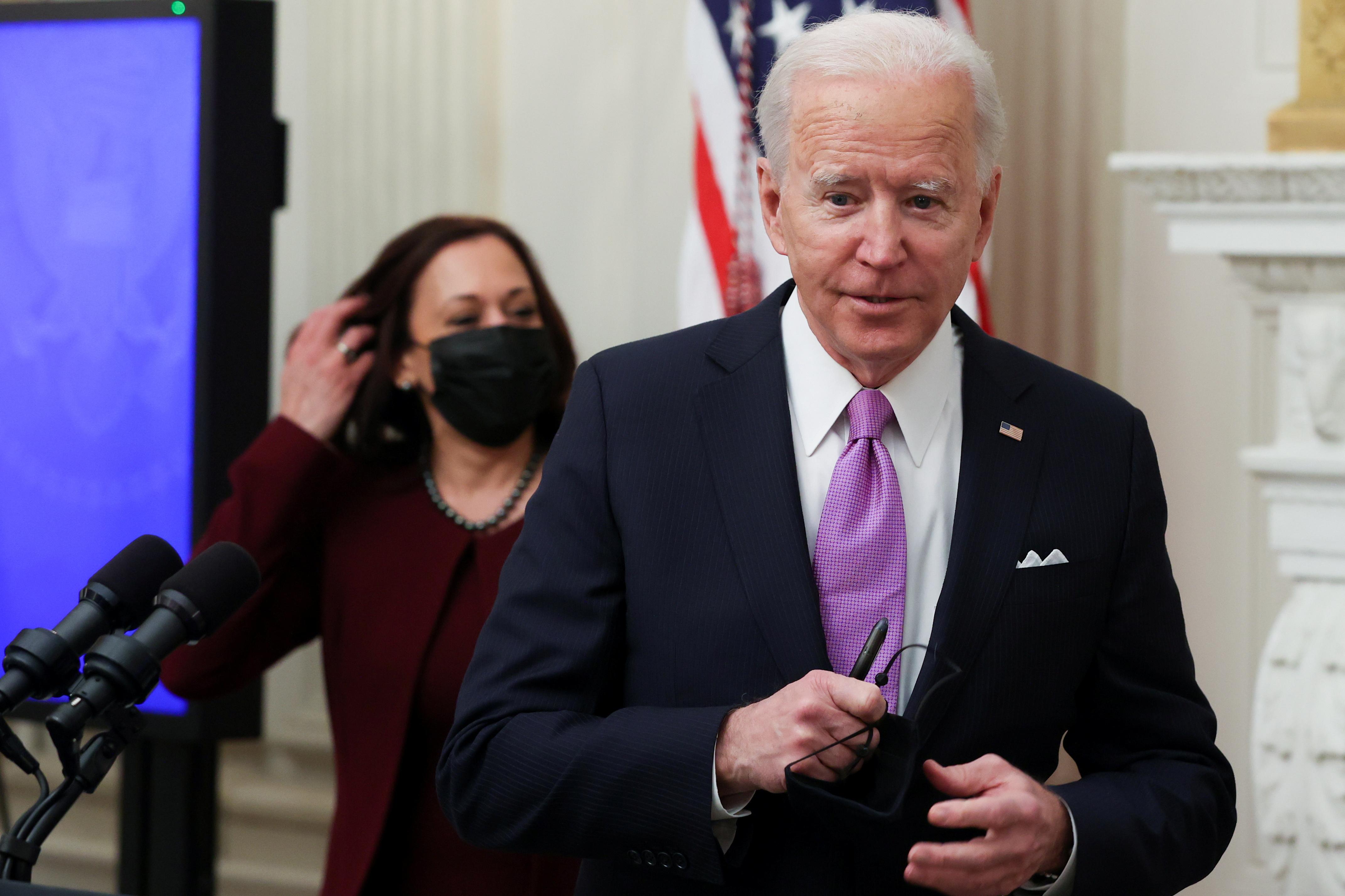 بايدن كان قد ألمح إلى احتمال عودة واشنطن للاتفاق النووي