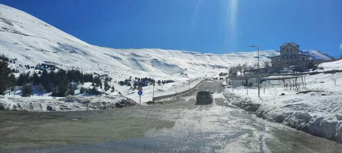 The ski season in Lebanon is suffering