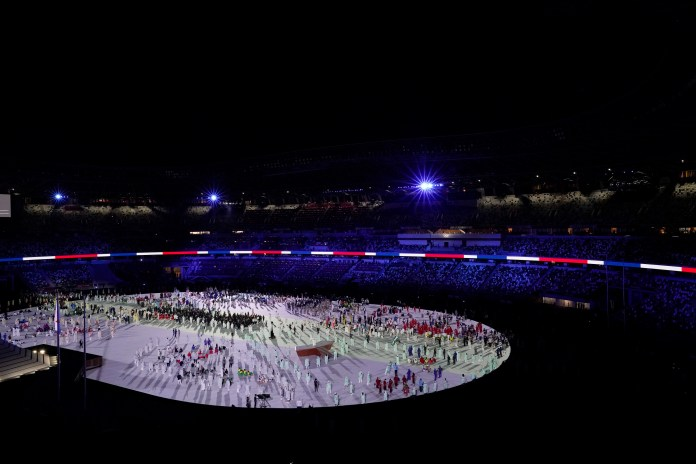 From the Olympic Opening Ceremony