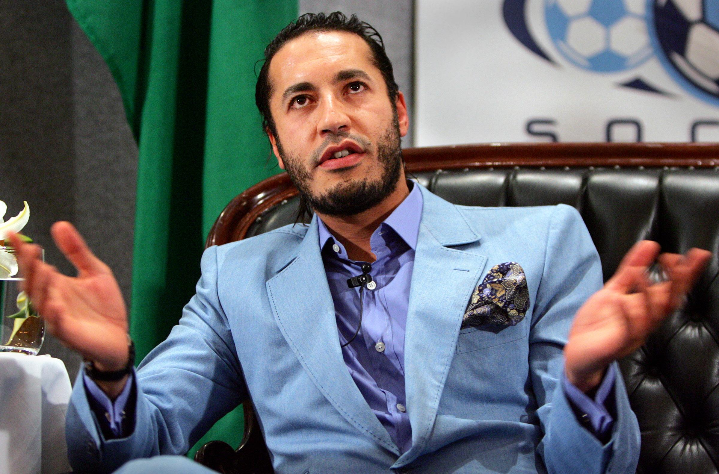 الساعدي القذافي غادر ليبيا إلى تركيا