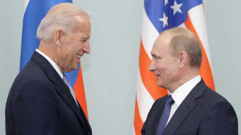 Une précédente rencontre entre Poutine et Joe Biden lorsqu'il était vice-président Obama