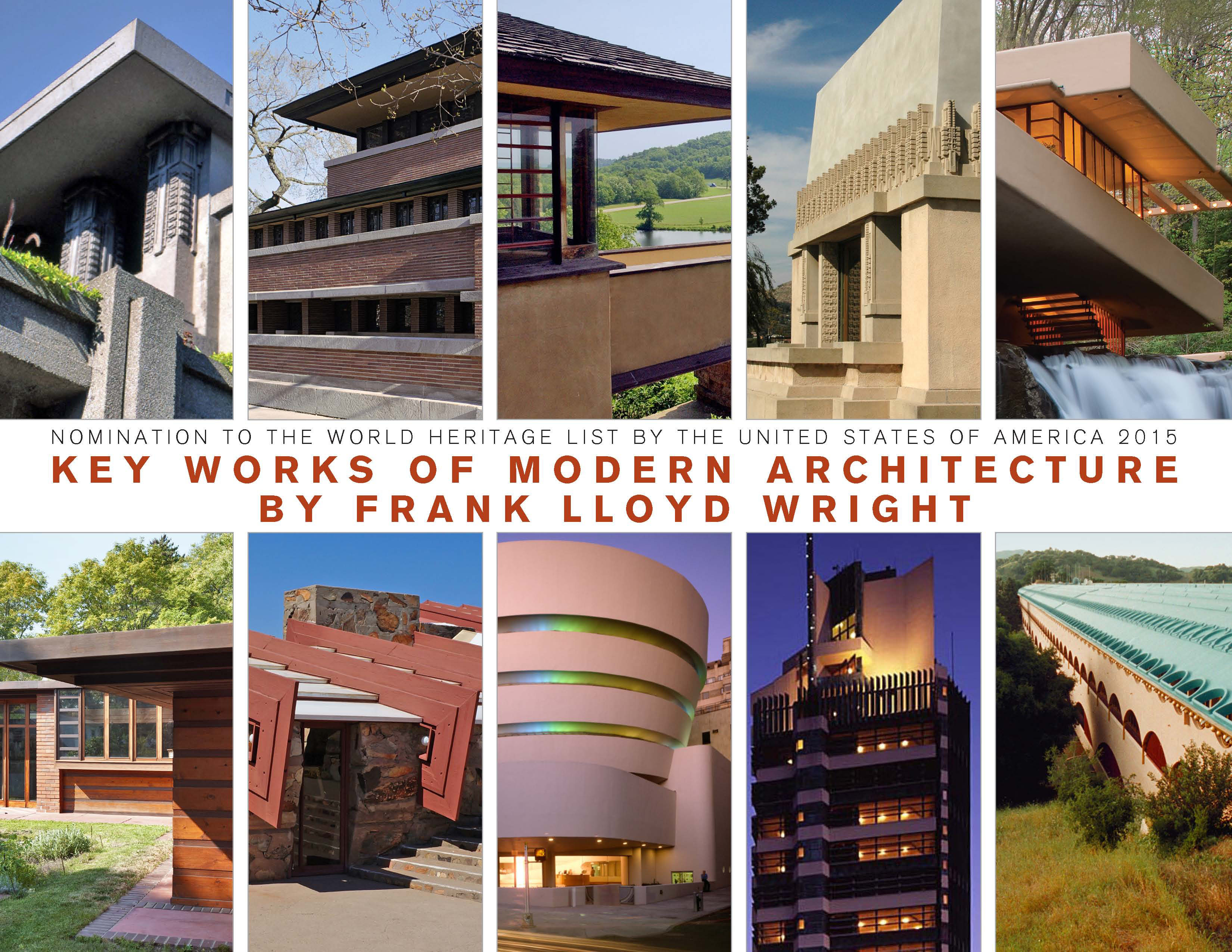Us Seeks World Heritage Status For Frank Lloyd Wright