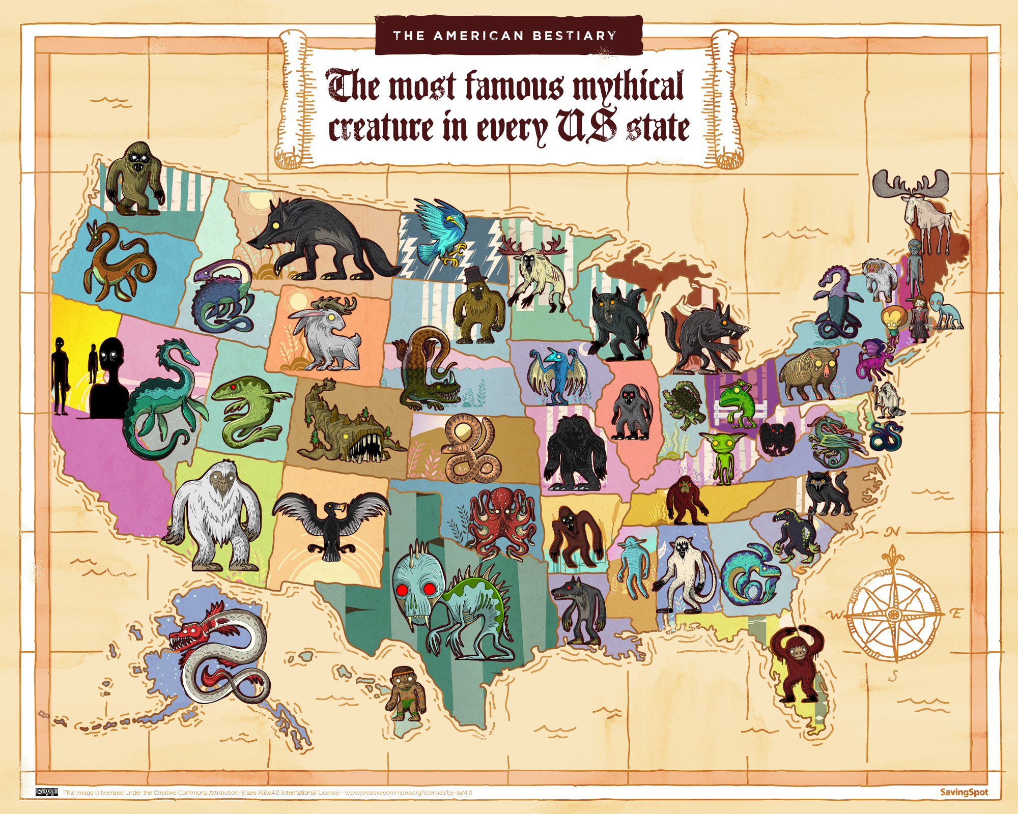 Mythical (But Possibly Real) Creatures That Roam the USA | Voice of America - English