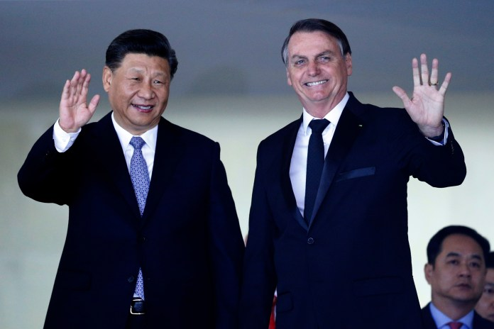 Economy in Thoughts, Bolsonaro Changes Tack and Cozies Up to Xi