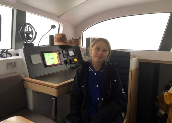 Teen Climate Activist Leaving US, Setting Sail for Spain
