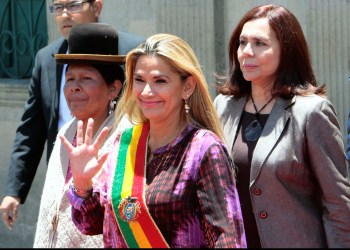 Bolivia's Interim President Cancels Trip Due to 'Credible Risk' as Crisis Roars On