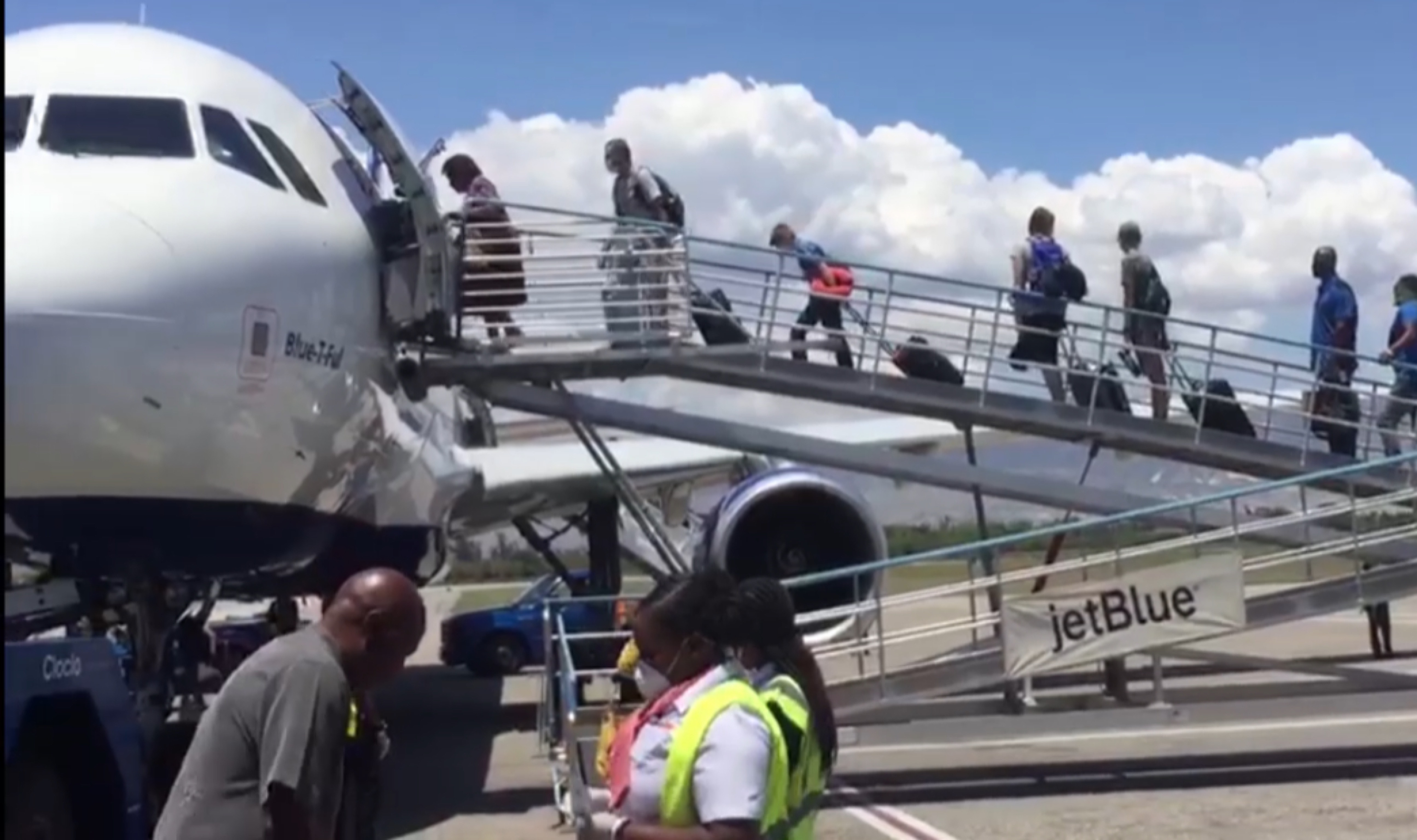 JetBlue Flies American Citizens, Residents Stuck in Haiti Home