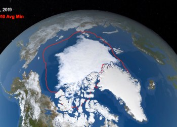 Arctic in Hot Water: Sea Ice Minimal in Chukchi, Bering Seas