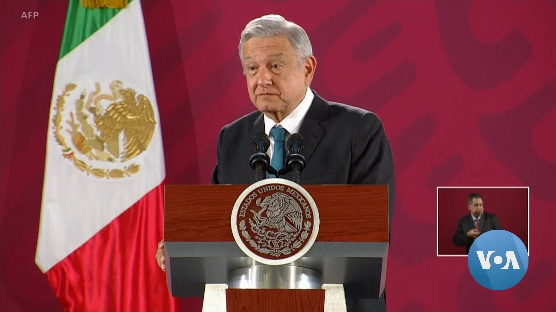 Mexico's President Dismisses Trump's Suggestion About Waging War on Drug Cartels