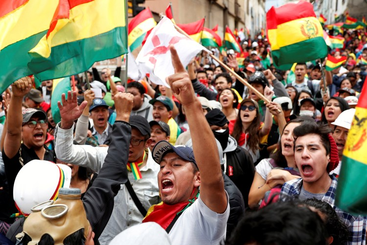 OAS Finds Irregularities in Disputed Bolivia Vote, Calls for New Elections