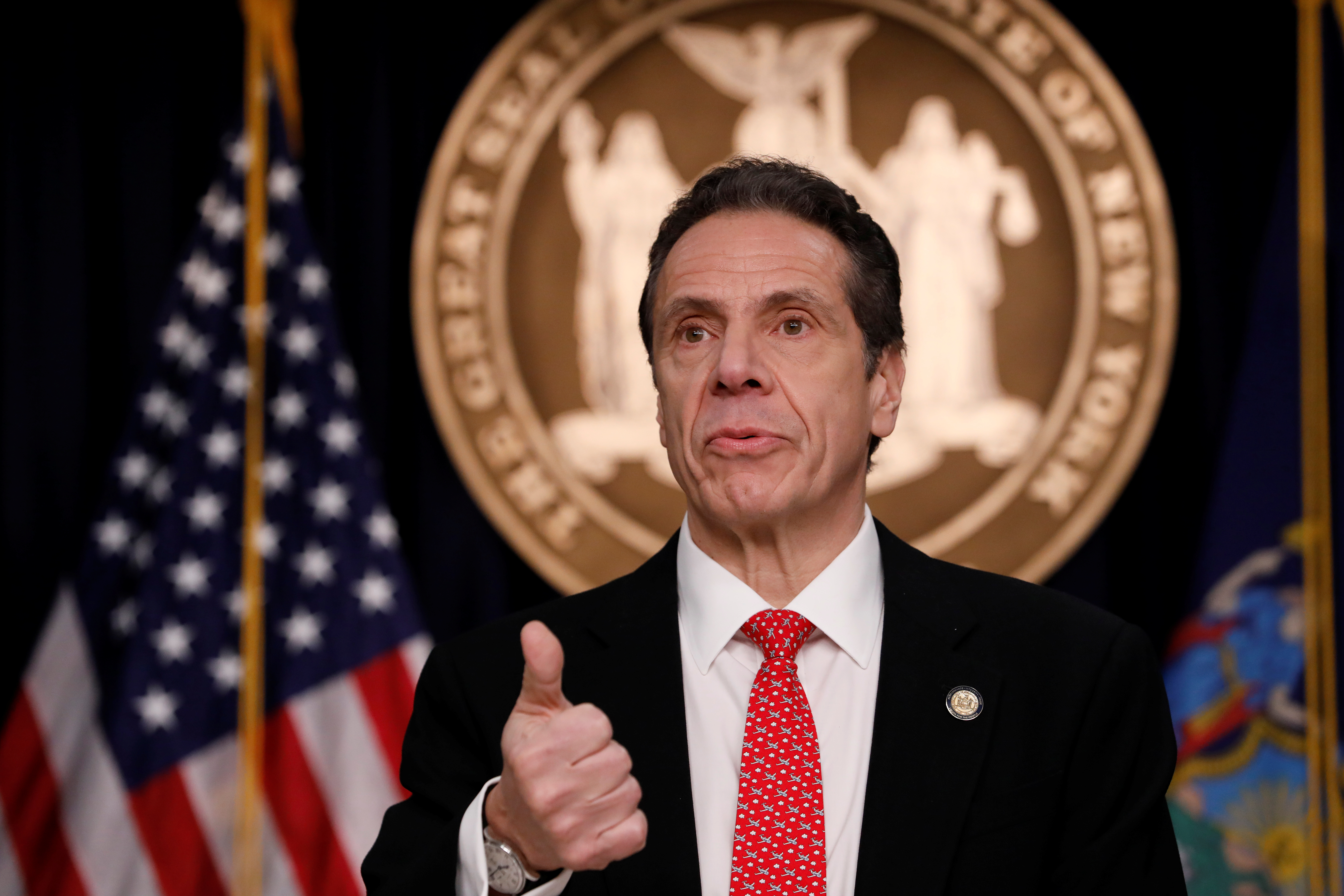 Cuomo Emerges as Democratic Counter to Trump Virus Response
