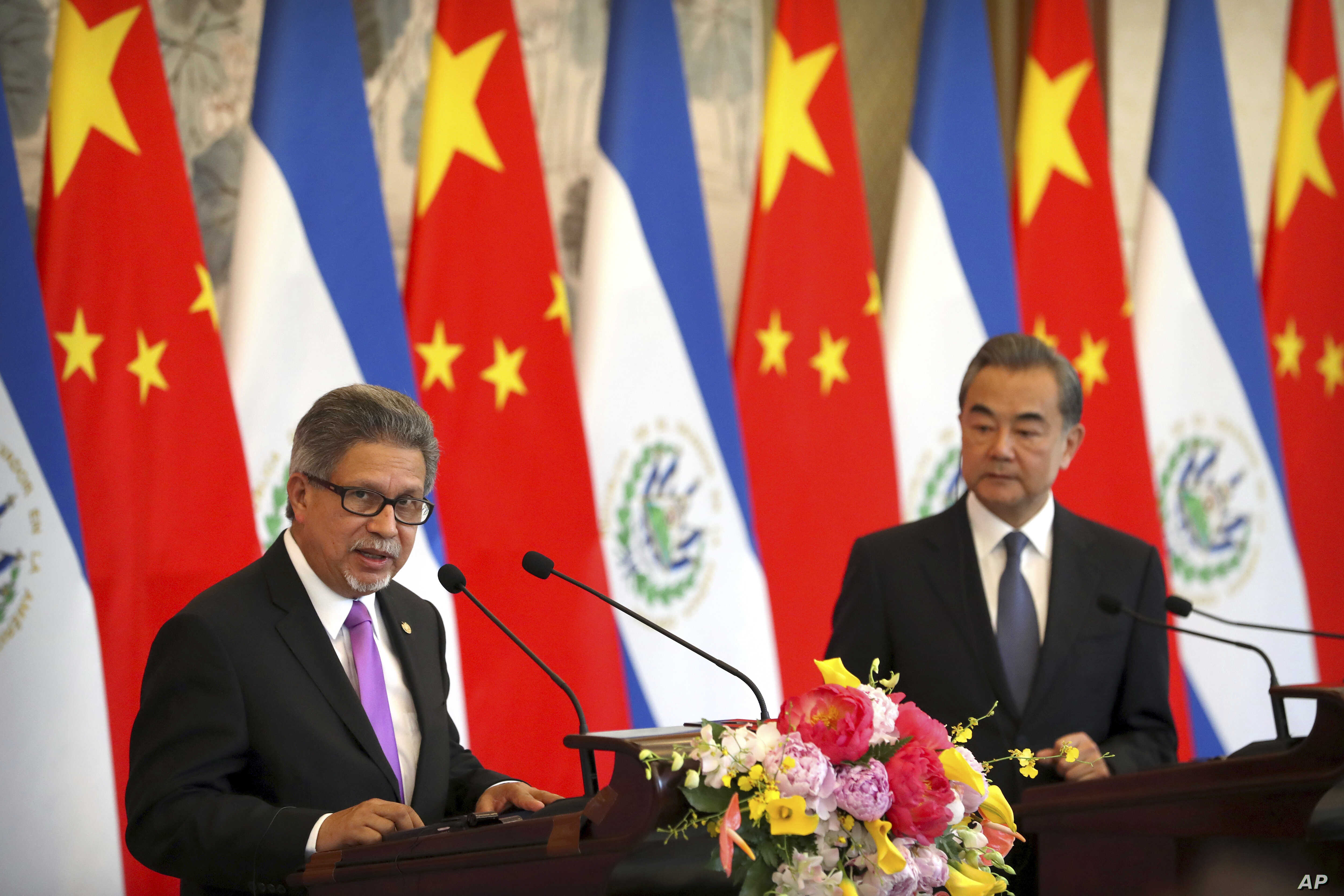 Eyeing China Us Scolds El Salvador Warns Others On Cutting
