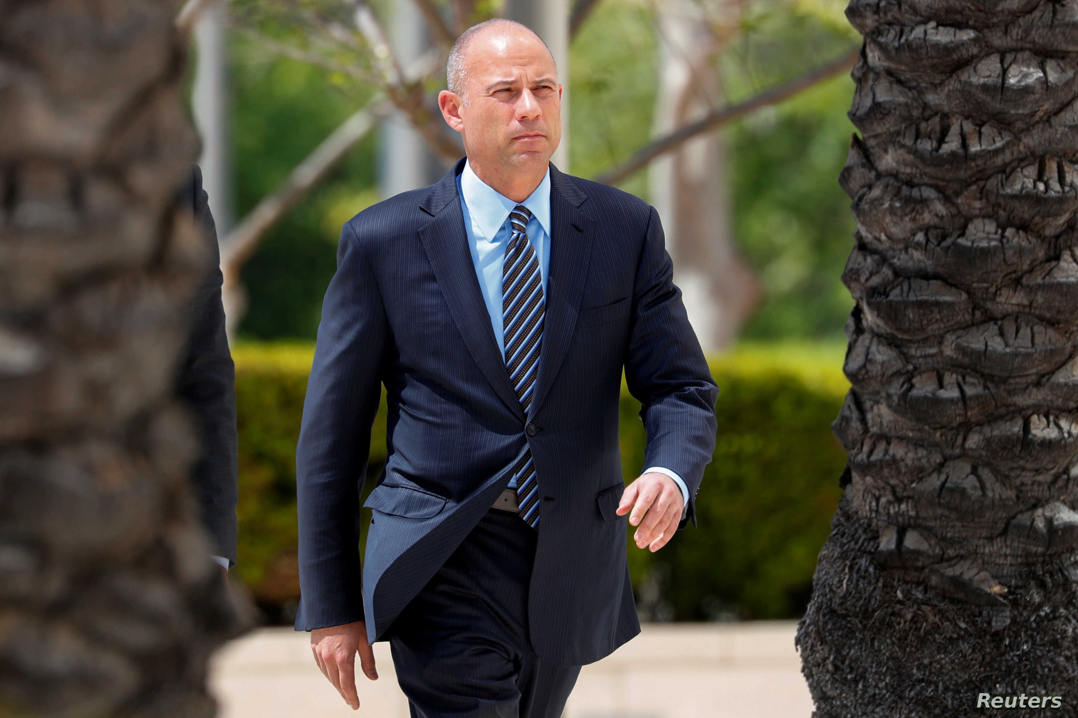 File Attorney Michael Avenatti Makes An Initial Appearance On Charges Of Bank And Wire Fraud As He Arrives At Federal Court In Santa Ana California
