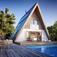 A-frame Home Kits  A-frame homes