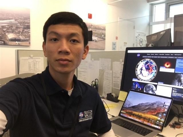 Lê Ngọc Trẫm là một trong số ít người Việt Nam đang làm việc tại NASA. (Ảnh: Nhân vật cung cấp)
