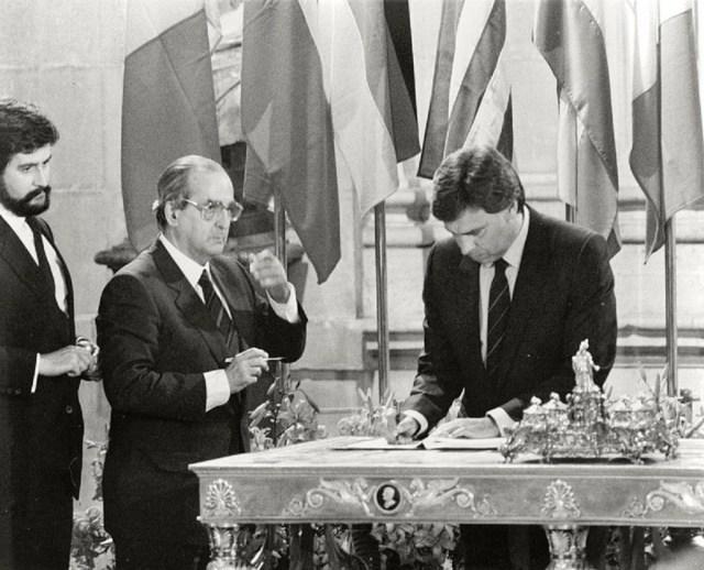 González elaboró el Plan de entrada de España en la UE