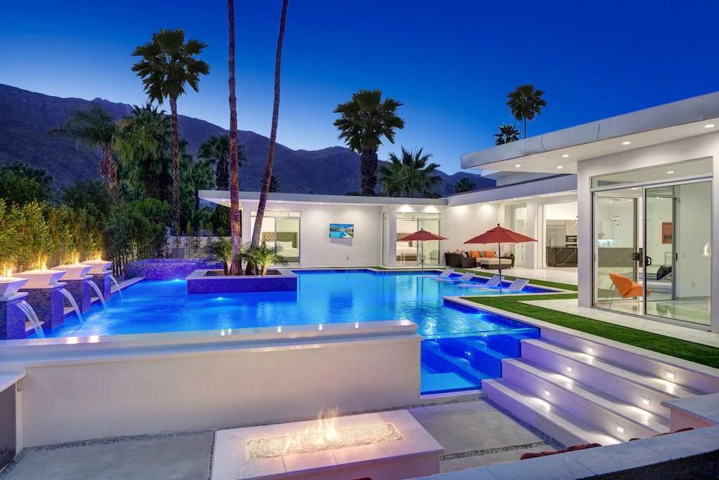 brandneuer palm springs luxus dream resort pool 5 be 5 5 ba zu fuss in die innenstadt von ps the movie colony