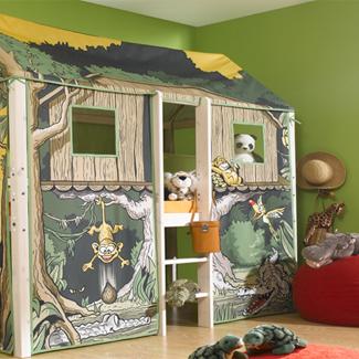 Jungle kamer ideen voor een kleine Tarzan  vtwonen