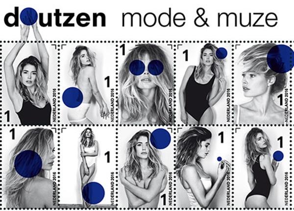 Corbijn laat Doutzen schitteren op postzegels