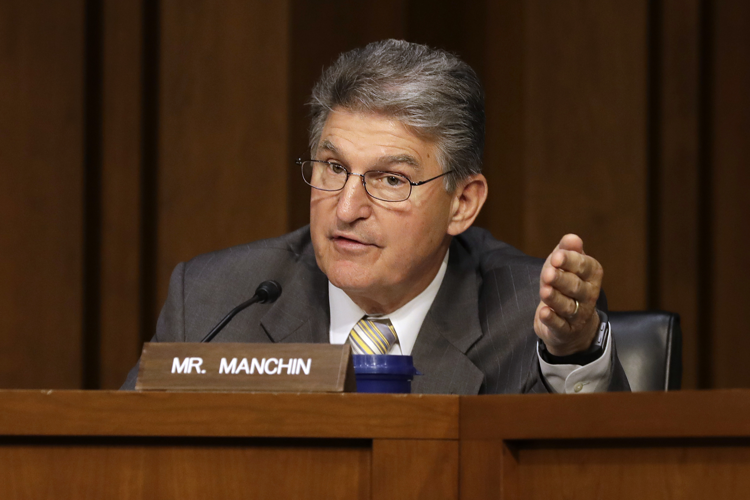 Image result for photos of Sen. Joe Manchin I