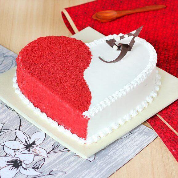 Valentine Cake Online Delivery