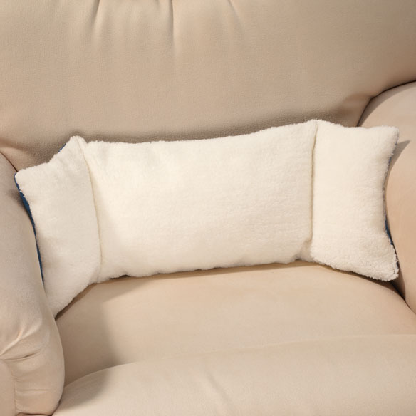 Sherpa Back Support Pillow  Back Support Pillow  Walter
