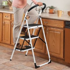 Office Chair Supports 300 Lbs How To Slipcover A With Arms Step Ladder Stool - Walter Drake