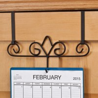 Over The Door Calendar Holder - Calendar Holder - Walter Drake