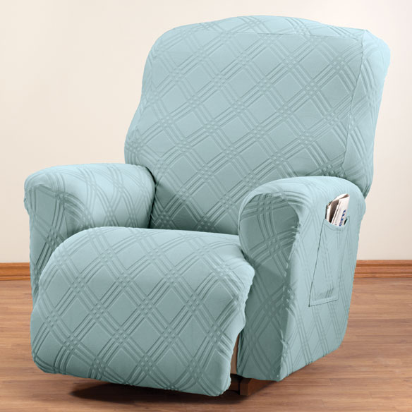 microfiber recliner chair covers cedar rocking chairs vinyl outdoor cover - patio walter drake