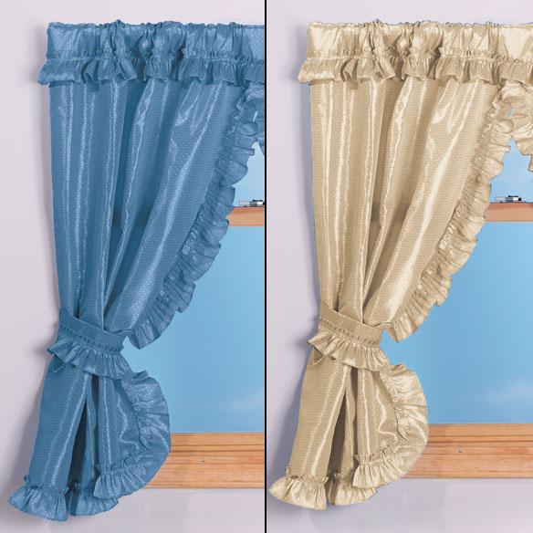 70W x 45H Bathroom Window Curtains  Bathroom Curtains